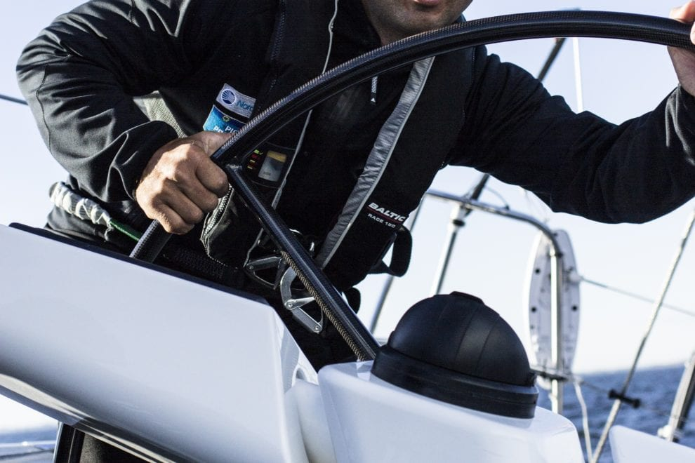 Piotr Przybylski driving